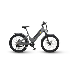 QUIETKAT, VILLAGER, Fat TIre, Electric Mountain/Cruiser Bike - 500 Watt, 48 V - electricbyke.com