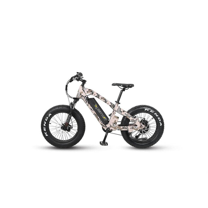 QuietKat, Ripper SS, Electric Mountain Bike - 500 Watt, 48V - electricbyke.com