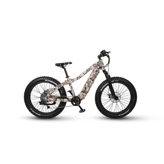 QUIETKAT, WARRIOR, Fat Tire, SINGLE SPEED, Mountain / Trail Bike - 1000 Watt, 48 V - electricbyke.com