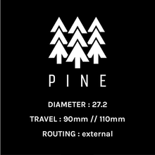 Load image into Gallery viewer, PINE DROPPER POST 27.2MM W/ PUGET MTB LEVER - with Installation at eBike Purchase - electricbyke.com