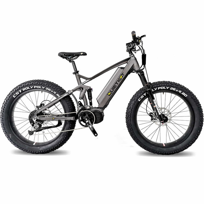 QuietKat, 2020 RIDGERUNNER, Fat Tire, Electric Mountain Bike - 750/1000 Watt, 48V - electricbyke.com