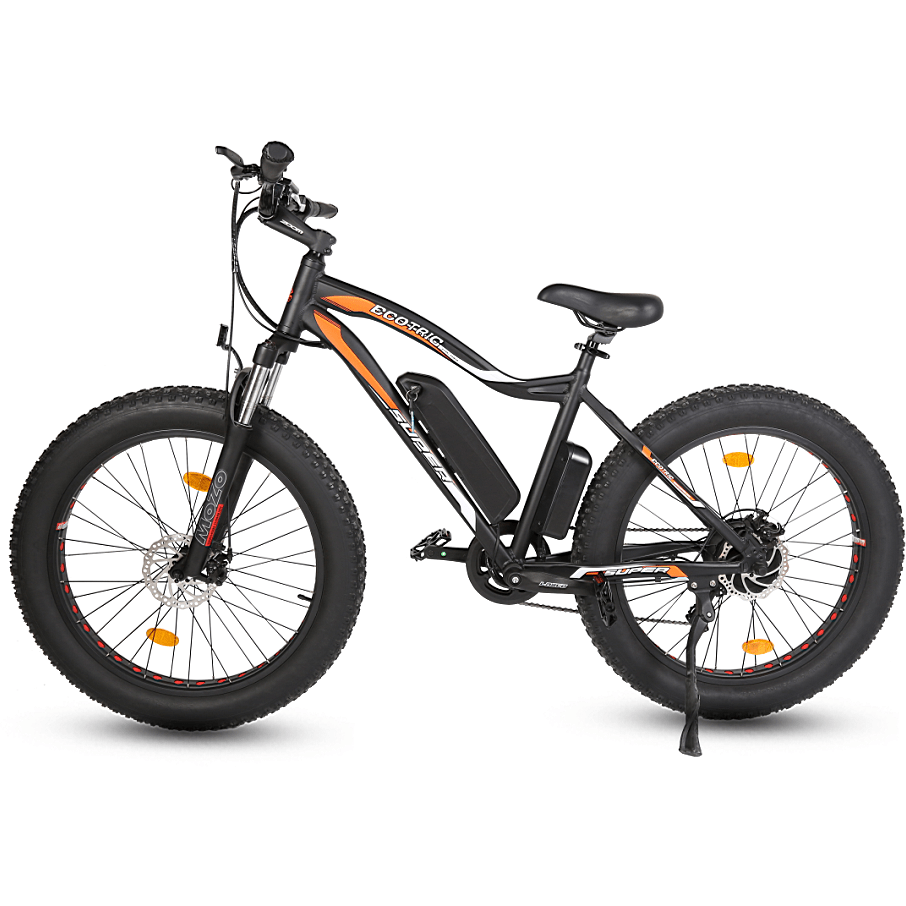 ECOTRIC ROCKET, Fat Tire Beach/Snow - 500 Watt, 36V - electricbyke.com