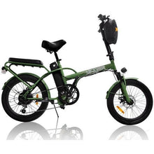 Load image into Gallery viewer, GREENBIKE ELECTRIC MOTION Jager Dune. Two-Seat E-Bike - 350 Watt, 36V - electricbyke.com