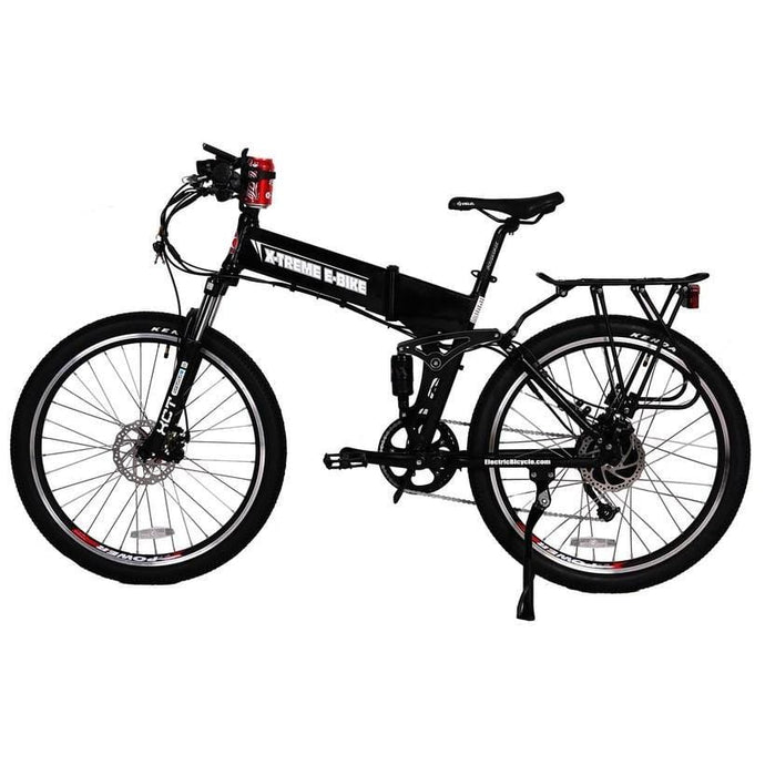 X-TREME Baja, Folding Electric Mountain Bicycle - 500 Watt, 48V - electricbyke.com
