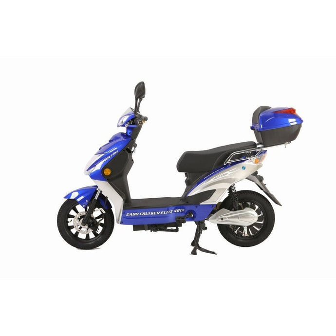 X-TREME Cabo Cruiser Elite, Electric Bicycle Scooter - 500 Watt, 48V - electricbyke.com