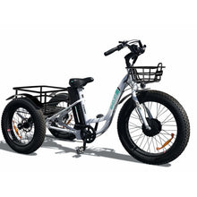 Load image into Gallery viewer, EMOJO, Electric Bike, CADDY, Electric Fat Tire Tricycle - 500 Watt, 48V - electricbyke.com