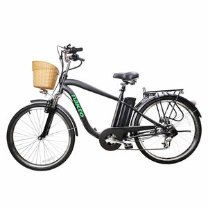 NAKTO Camel City Cruiser For Men - 250 Watt, 36V - electricbyke.com