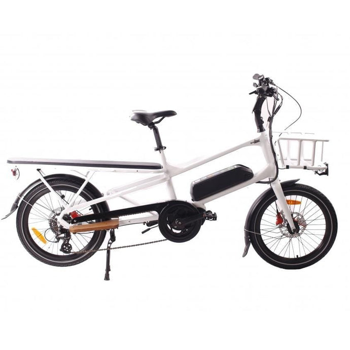 GREENBIKE ELECTRIC MOTION Cargo eBike - 500 Watt, 48V - electricbyke.com