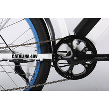 Load image into Gallery viewer, X-TREME Catalina Electric Step-Through Beach Cruiser - 500 Watt, 48V - electricbyke.com