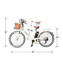 "Load image into Gallery viewer, NAKTO Classic Electric Cruiser, 26"" - 250 Watt, 36V - electricbyke.com"