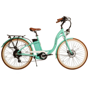 WILDSYDE Paree Vintage Classic Electric Bicycle - 500 Watt, 48V (Class 2) - electricbyke