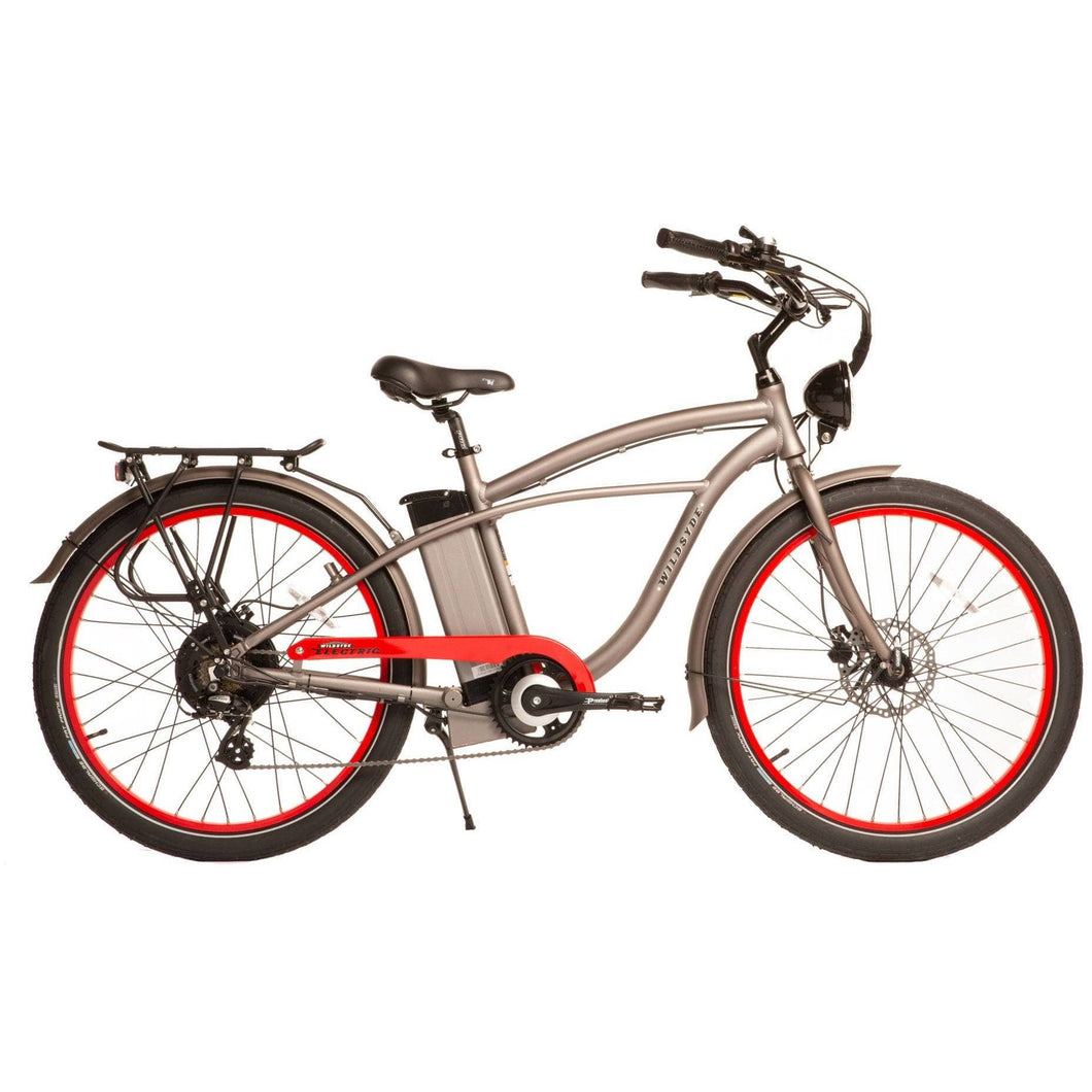 WILDSYDE Roam Vintage Classic Electric Bicycle - 500 Watt, 48V (Class 2) - electricbyke