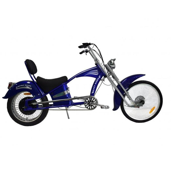 GREENBIKE ELECTRIC MOTION EZ Rider Urban Cruiser - 500 Watt 60V Nominal / 750 Watt  67V (Peak) - electricbyke.com