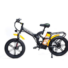Load image into Gallery viewer, GREENBIKE ELECTRIC MOTION Big Dog Off Road, Fat Tire Folding Electric Bike - 750 Watt, 48V - electricbyke.com