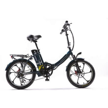 Load image into Gallery viewer, GREENBIKE ELECTRIC MOTION City Premium 2020, Folding Electric, Fat TIre - 350 Watt, 48V - electricbyke.com