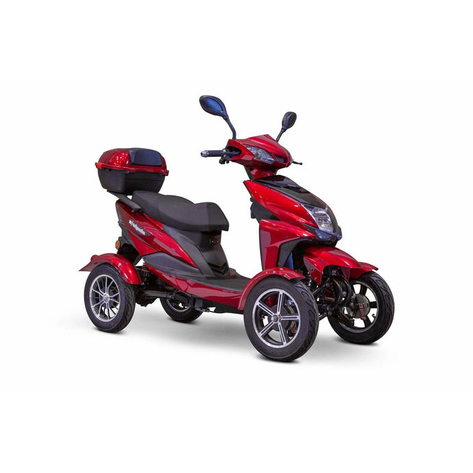 EWheels EW-14 Four Wheel Mobility Scooter - 500 Watt, 48V - electricbyke.com