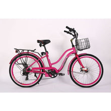 Load image into Gallery viewer, X-TREME Malibu Elite, Electric Beach Cruiser - 300 Watt, 24V - electricbyke.com