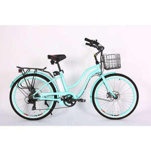 X-TREME Malibu Elite, Electric Beach Cruiser - 300 Watt, 24V - electricbyke.com