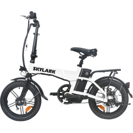 NAKTO Skylark Folding Bike - 220 Watt, 36V - electricbyke.com