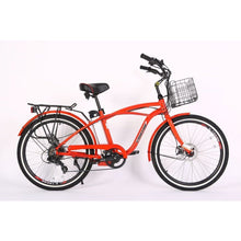 Load image into Gallery viewer, X-TREME Newport Elite, Beach Cruiser - 300 Watt, 24V - electricbyke.com