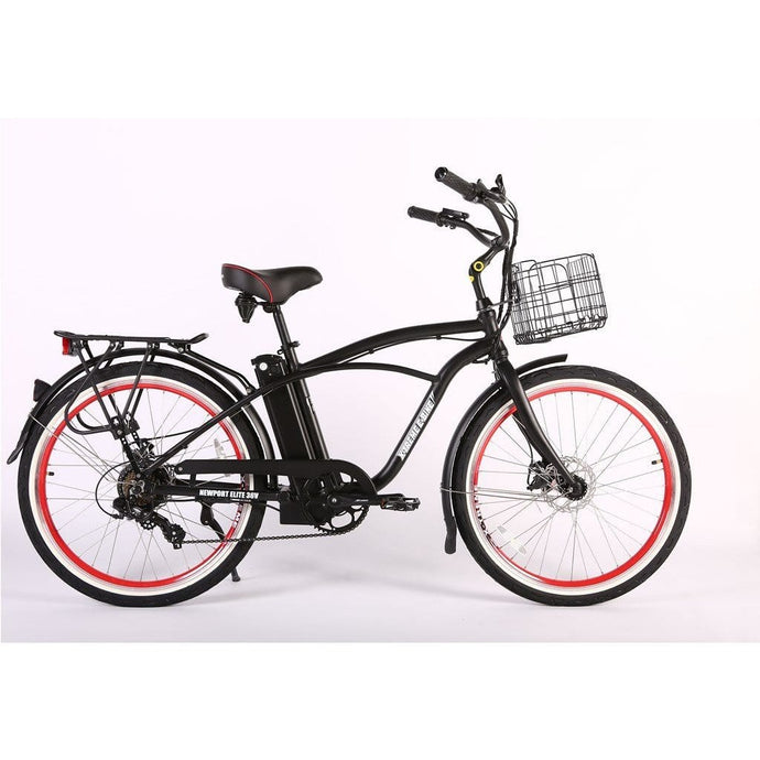 X-TREME Newport Elite Beach Cruiser - 350 Watt, 36V - electricbyke.com