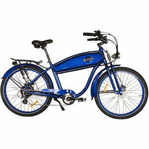 WILDSYDE Shadow Vintage Electric Bicycle -500 Watt, 36V (Class 2) - electricbyke.com