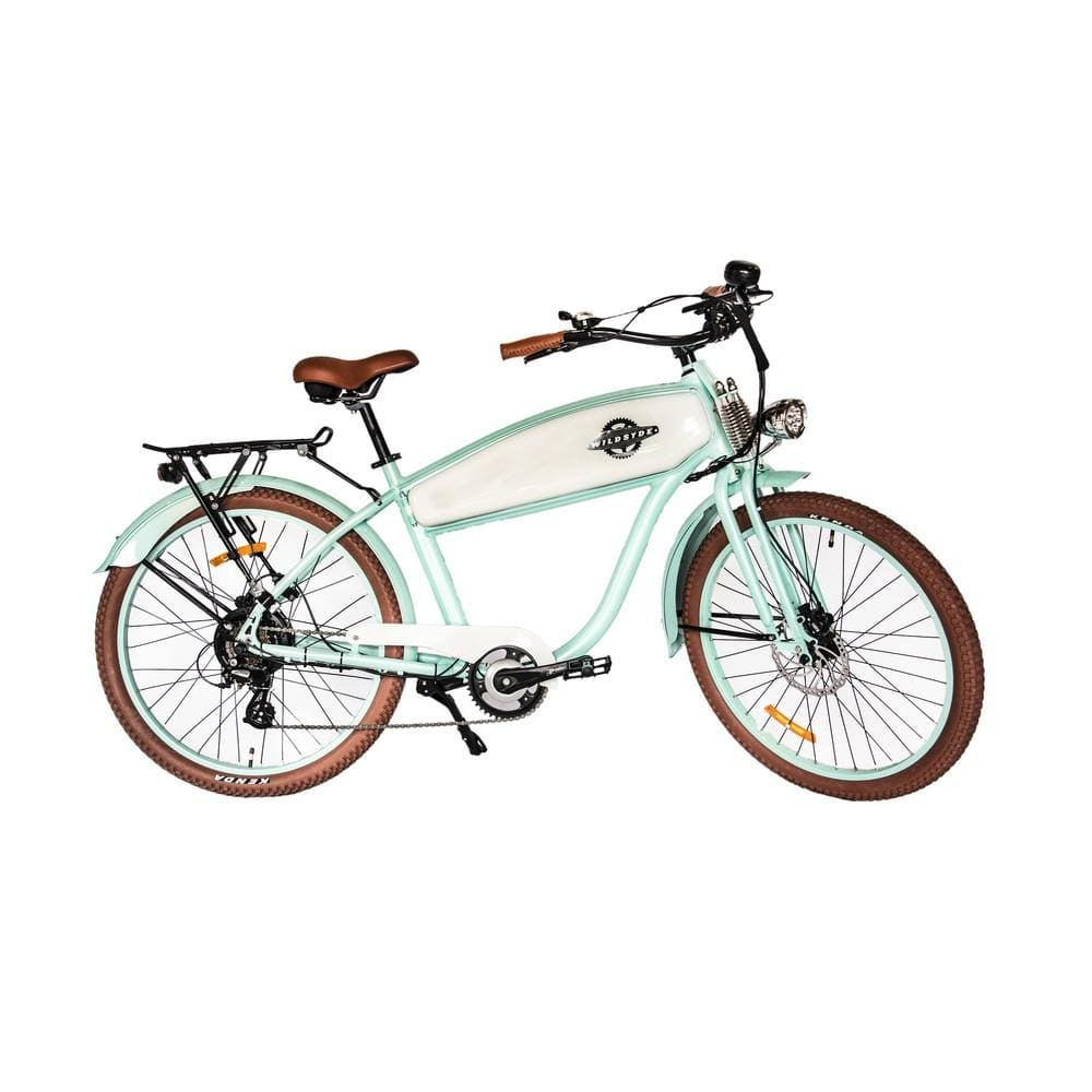 WILDSYDE Hunni Bunni Vintage Electric Bicycle - 500 Watt, 36V (Class 2) - electricbyke.com