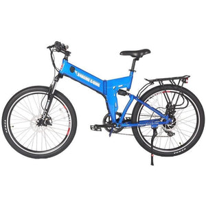 X-TREME  X-Cursion Elite, Folding Mountain Bike - 300 Watt, 24V - electricbyke.com