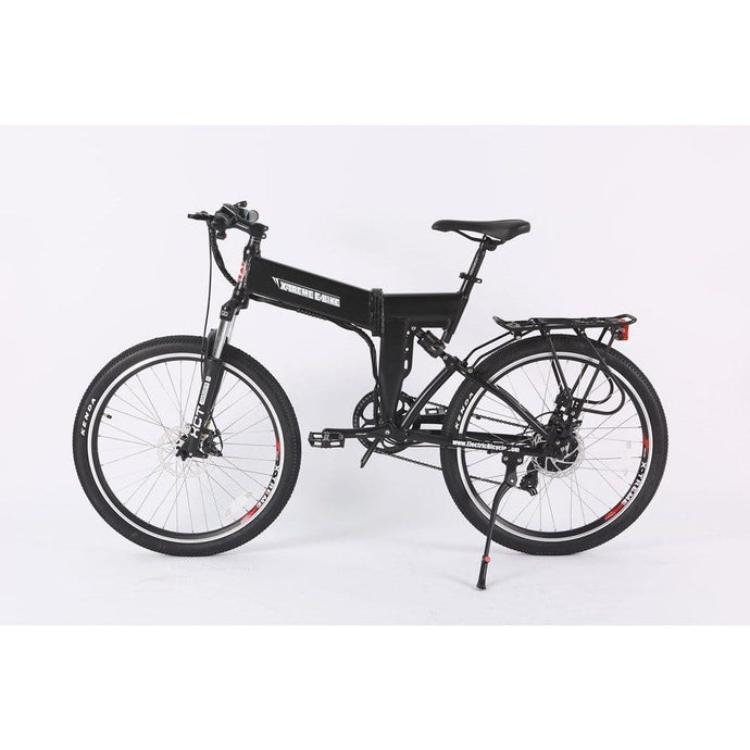 X-TREME X-Cursion Elite, Folding Mountain Bicycle - 350 Watt, 36V - electricbyke.com