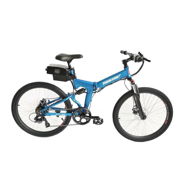 X-TREME  XC-36 Electric Folding Mountain Bike - 350 Watt, 36V - electricbyke.com