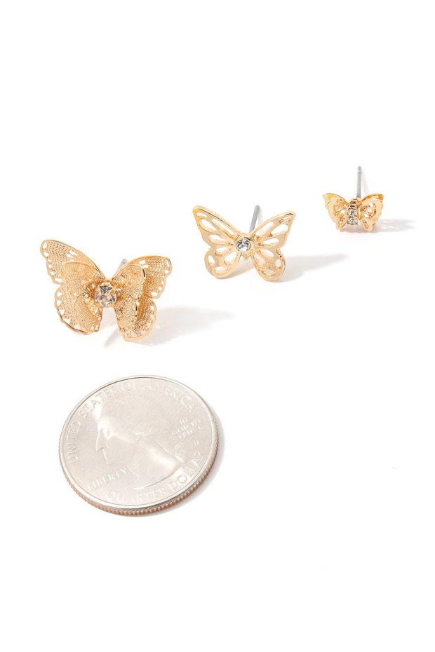 Butterfly Effect Earring Set - Bloom By Lovlie