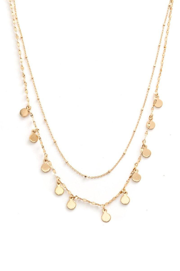 Dripping In Gold Necklace - Bloom By Lovlie