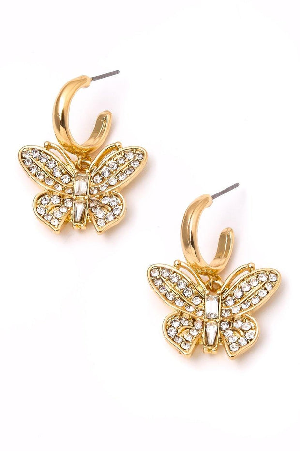 Linda Earrings - Gold - Bloom By Lovlie