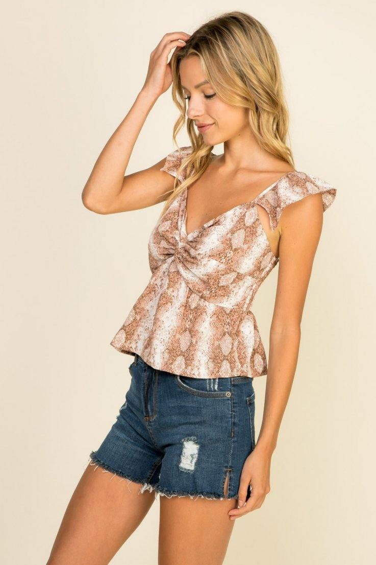 Cute But Fierce Top - Bloom By Lovlie