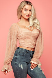 Sweet Like Candy Top - Nude - Bloom By Lovlie