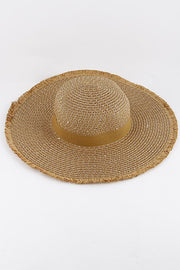 Paradise  Sun Hat - Tan - Bloom By Lovlie