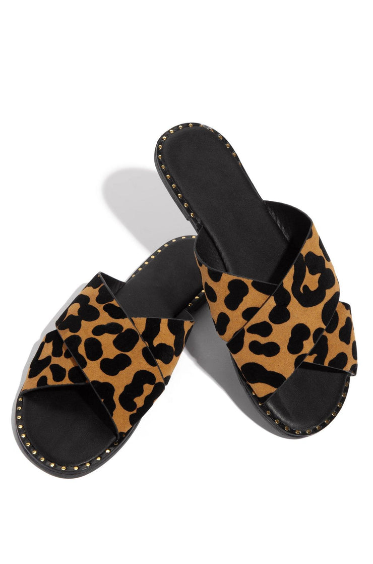 Malibu Slide - Leopard - Bloom By Lovlie