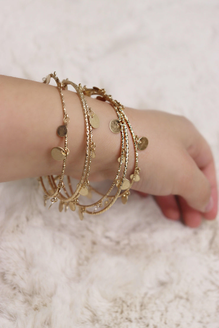 Bali Bracelet - Gold - Bloom By Lovlie