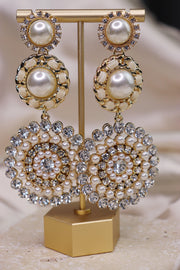 Bella Earrings - Ivory