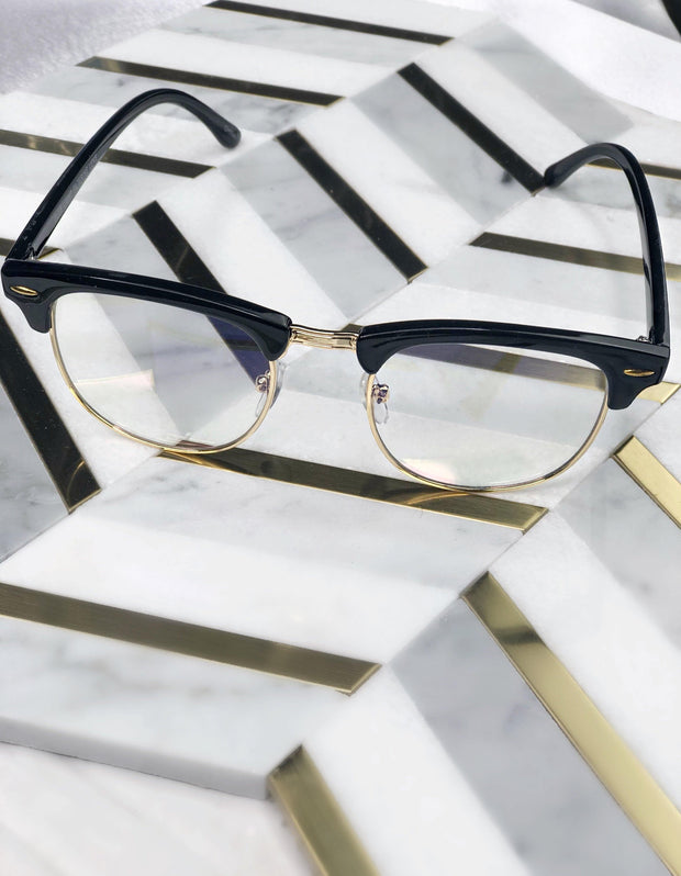 Socialite Glasses - Gold