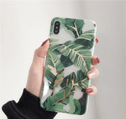 Metallic Leaf IPhone Case