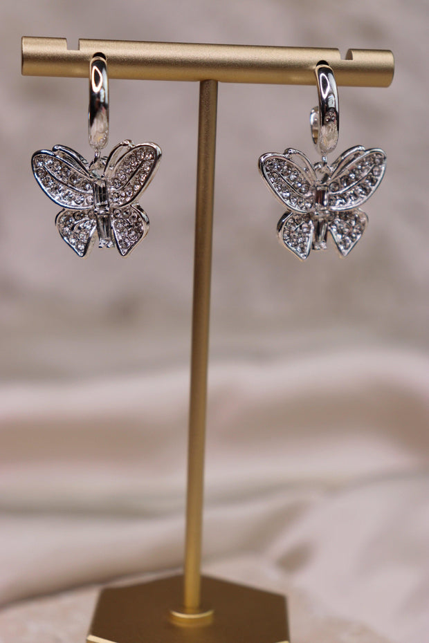 Linda Earrings - Silver