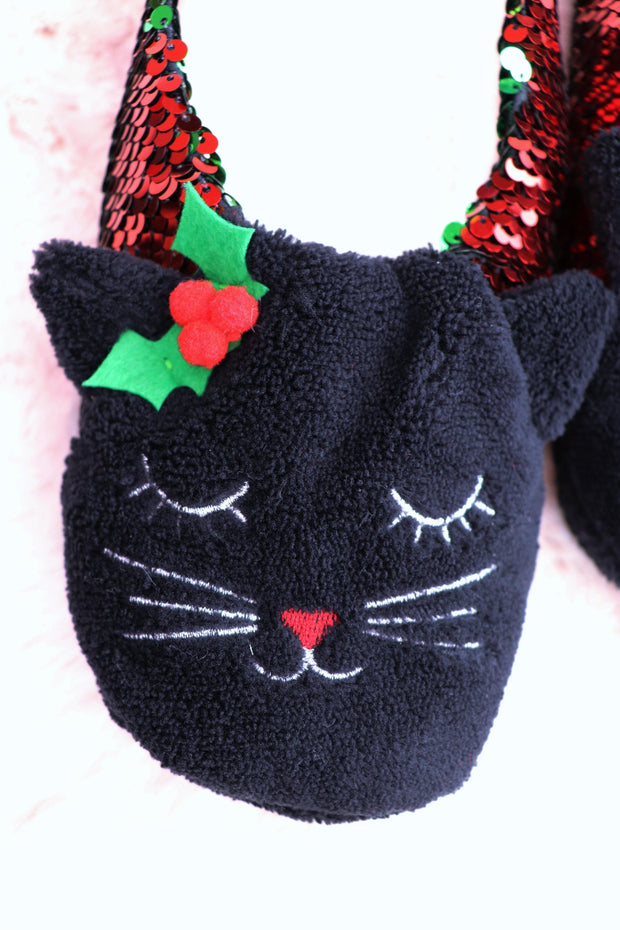 Kitty Slipper Socks