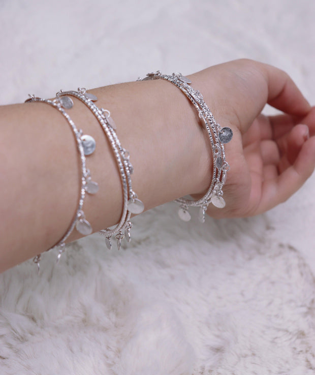 Bali Bracelet - Silver - Bloom By Lovlie