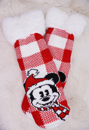 Mickey Gripper Socks