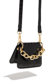 VIP Club Mini Bag - Black - Bloom By Lovlie