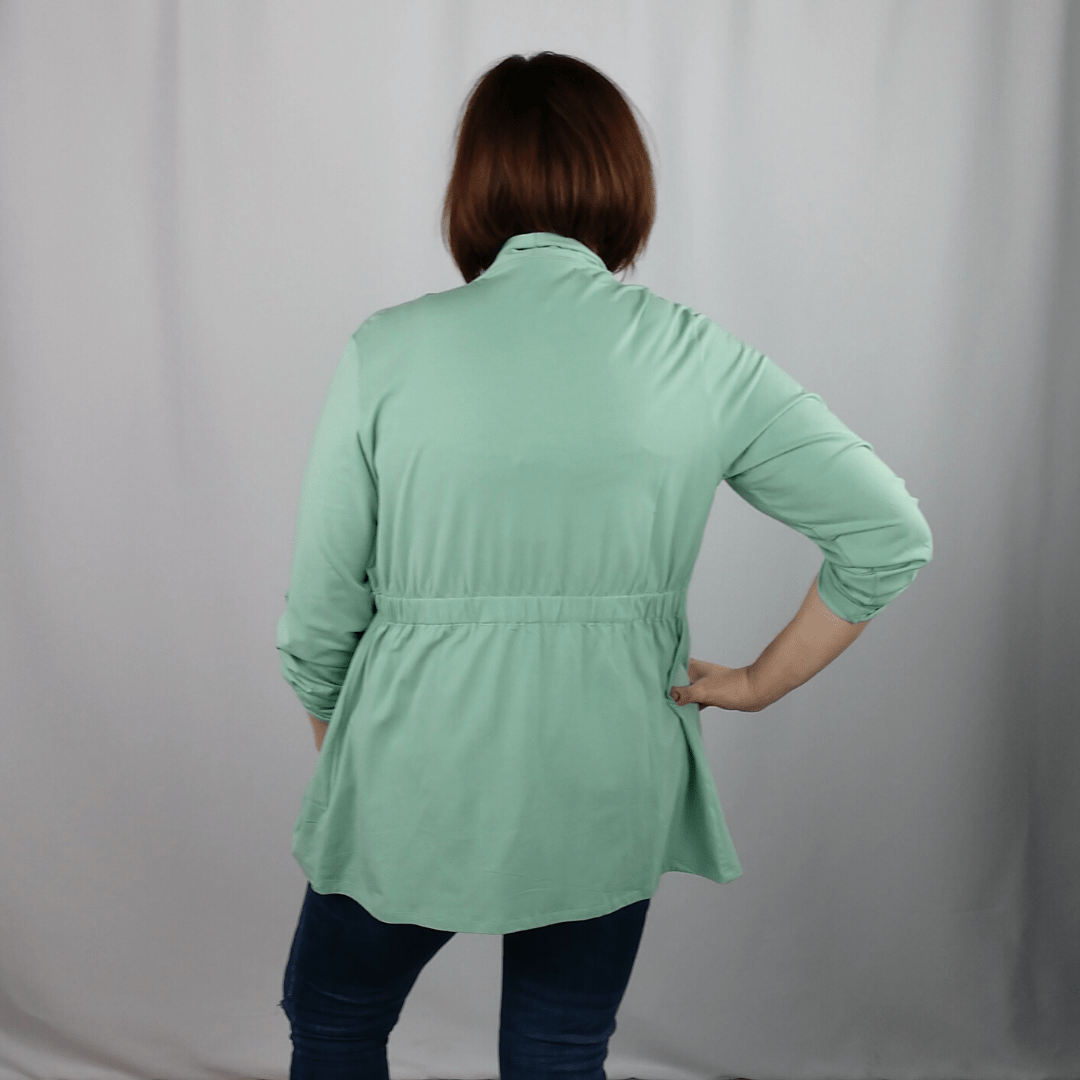 Pistachio 2 in 1 Knit Jacket