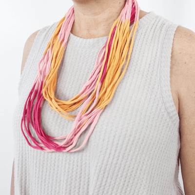 Ombre Shred Knit Scarves