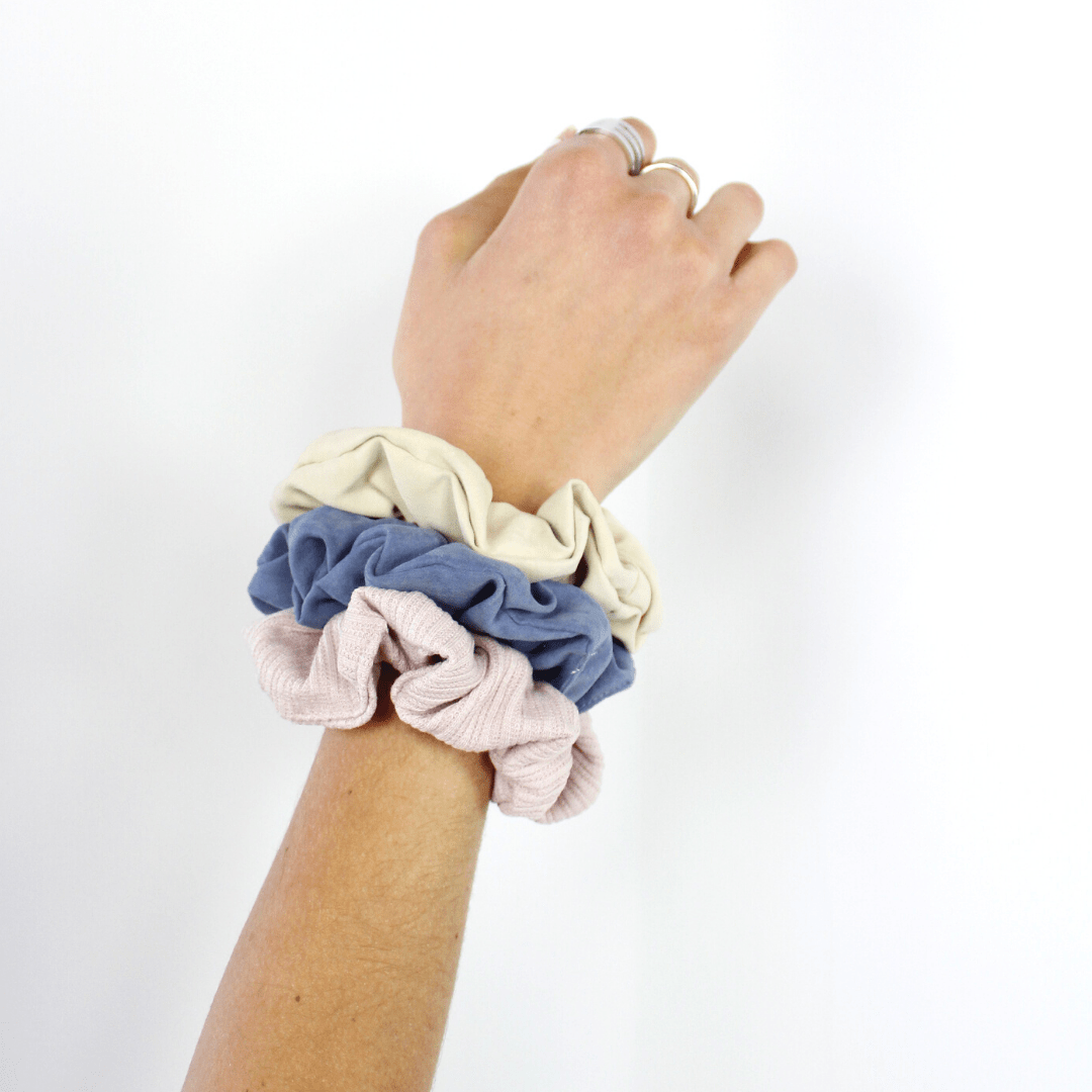 3pc Matte Scrunchies