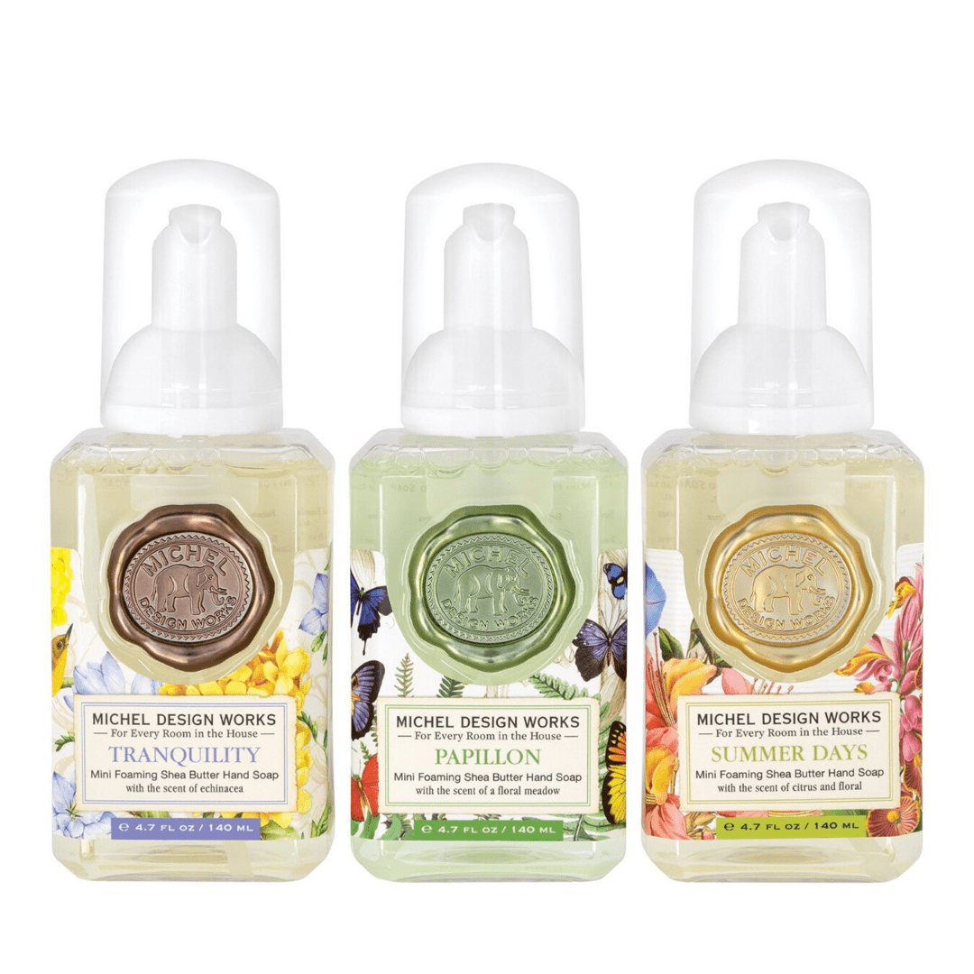 Mini Foaming Soap Set